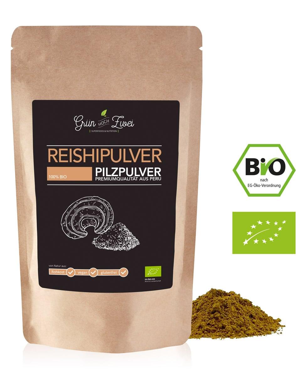 Bio Reishi Pulver