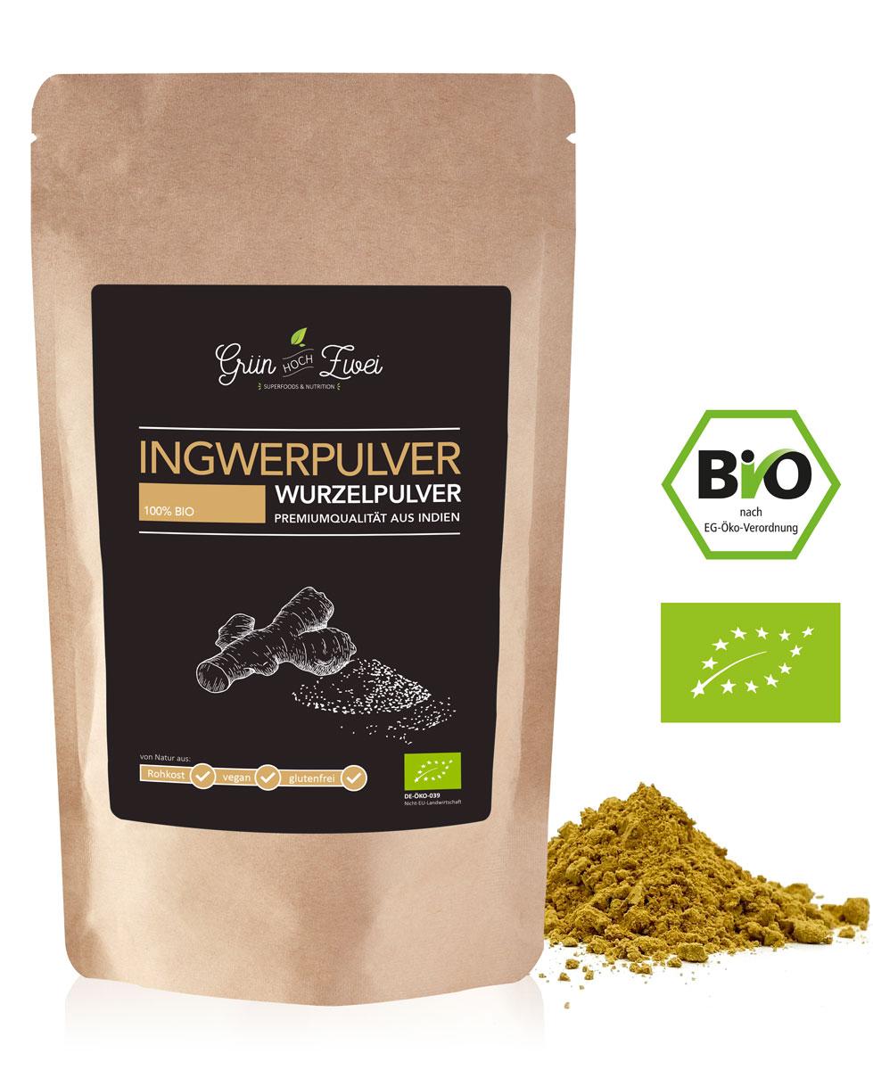 Bio Ingwer Pulver