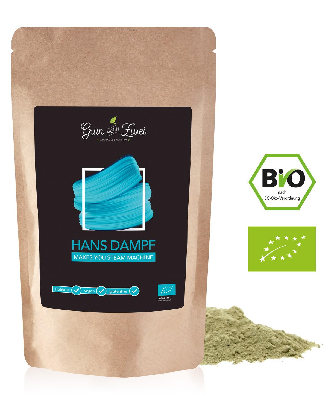 Hans Dampf Nahrungsergänzungsmittel Mix mit Guarana Bio